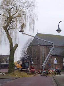 hoogwerker kerk
